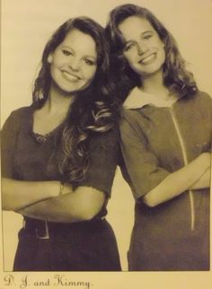So basically DJ and Kimmy are the bestest friends forever. | Kimmy Gibbler And DJ Tanner Will Always And Forever Be BFFs
