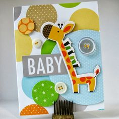 Card-Blanc by Kathy Martin: Oh Baby
