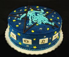 Leo Zodiac Sign Cake
