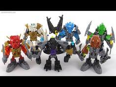 LEGO Bionicle Toa Chibi team! All six! - YouTube