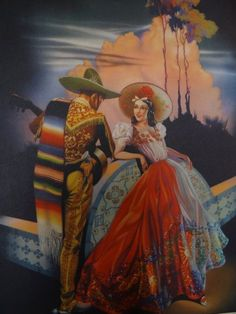 Mexican Poster art - Beautiful work...love, love it.