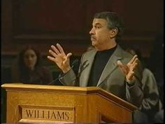 """New York Times columnist Thomas Friedman addresses a packed Chapin Hall at Williams College in April 2006 with an insightful look at globalization: """"The Worl. Thomas Friedman, William College, The World Is Flat, Leadership, Environment, A4, Future, Future Tense"""
