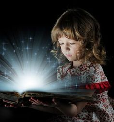 Books are magical. Never loose your sense of wonder!!