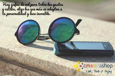 Las gafas de sol, son un accesorio que demuestra toda tu personalidad y estilo, llévalas siempre contigo.  #Fashion #Accessories #SunGlasses #FashionSunGlasses #FashionAccessories #WomensSunGlasses #WomensAccessories