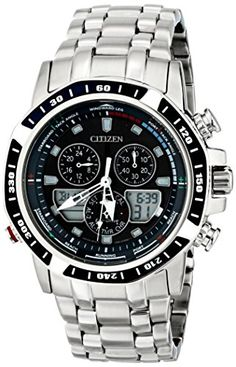 Citizen EcoDrive Mens JR405154L Sailhawk  Silver Analog Watch *** Check out this great product.