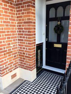 Victorian Porch Front Garden Doors Mosaic Tile