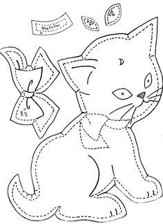 Gingham Dog & Calico Cat Crib Quilt g | Flickr - Photo Sharing!