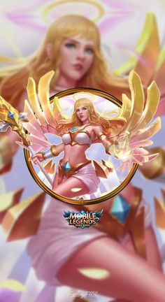 Wallpaper Phone Rafaela Wings of Holiness by FachriFHR