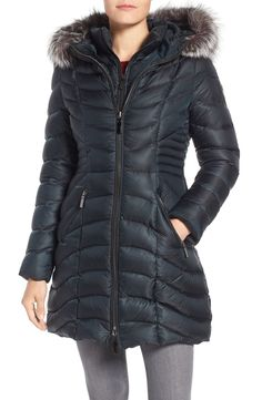 252ff8390ca New DAWN LEVY Genuine Fox Fur Trim Down Parka online. [$750] SKU  GIJY52193BJOJ10922