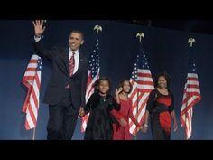 President-Elect Barack Obama on Election Night, Chicago Grant Park, Nov 4, 2008.