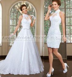 Encontre mais Vestidos de noiva Informações sobre Robe De Mariage 2 De duas…