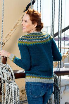 Free and Crochet Sweater Pattern! This Year Modern and Stylish Crochet Pattern Ideas Part 14 ; knitting sweaters for beginners; Sweater Knitting Patterns, Knit Patterns, Knitting Sweaters, Icelandic Sweaters, Fair Isle Knitting, Free Knitting, Pulls, Knitwear, Knit Crochet