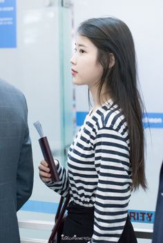 150912 IU at Incheon Airport Leaving for HK
