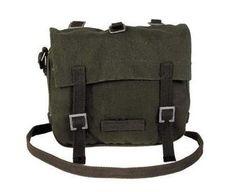 MFH BW Kampftasche, klein, oliv Schulterriemen / mehr Infos auf: www.Guntia-Militaria-Shop.de