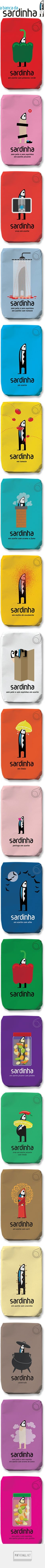 A Banca da Sardinha curated by Packaging Diva PD. A long packaging pin but worth it.