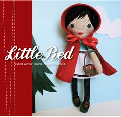 Little Red doll sewing pattern by mmmCrafts on Craftsy.com