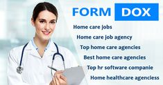 #Formdox offers #software #solutions for #Home #care #job #agency. This is the perfect software for Human Resources that solves all your #employee #management tasks. You may do complete #documentation for hiring an #employee and #plan and #schedule the #visits. https://bit.ly/2rBPgf2