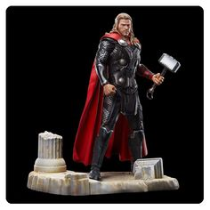 Avengers Age of Ultron Thor Action Hero Vignette 1:9 Scale Pre-Assembled Model Kit – Free Shipping