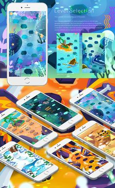 iOS Game Design on Behance