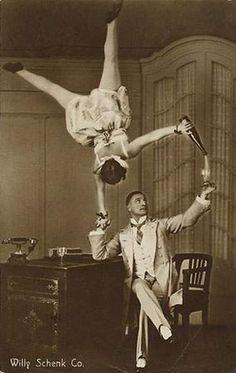 vintage circus | balancing act.