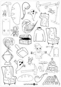 Znajdź i policz – głoski [f] i [h]. Wersja czarno-biała - Printoteka.pl Snoopy, Fictional Characters, Speech Language Therapy, Fantasy Characters