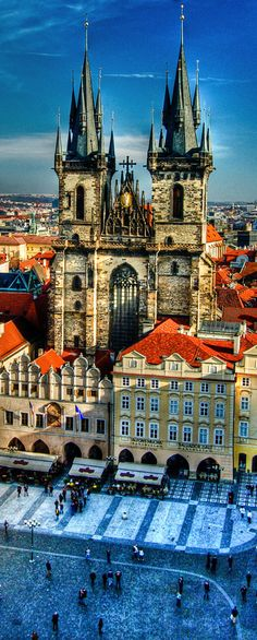 //Prague, Czech Republic #travel #places #photography