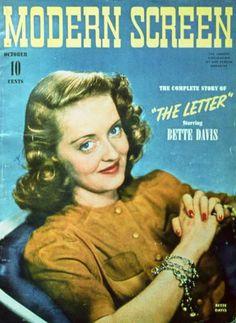 Bette Daivs, C1940s