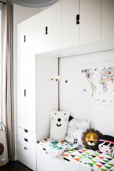 Friedrichs neues Kinderzimmer, living on small space, Inspiration auf 11 qm mit . Friedrichs new children& room, living on small space, inspiration on 11 sqm with endless storage space Pinspiration