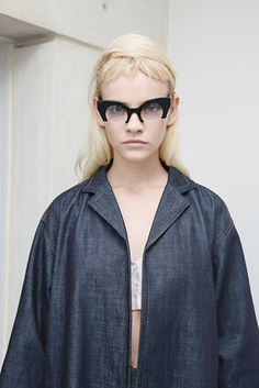 Miu Miu denim trench #pixiemarket #fashion #womenclothing @pixiemarket