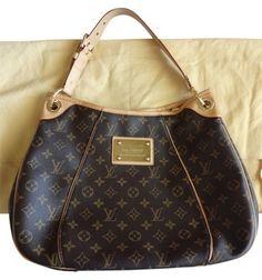 91a169f3cb11 Galliera Pm Brown Monogram Canvas Shoulder Bag. Lv HandbagsLouis Vuitton ...