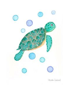 Sea Turtle art print Under the sea nursery Ocean watercolor painting Nautical illustration Cute children art Whimsical kids room decor is part of Cute children Rooms - MartaDalloul Art © Marta Dalloul Thank you for looking at my shop! Jellyfish Painting, Jellyfish Drawing, Watercolor Jellyfish, Jellyfish Tattoo, Jellyfish Quotes, Jellyfish Facts, Jellyfish Tank, Jellyfish Aquarium, Aquarium Fish