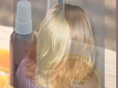 Domáci prírodný vlasový sprej - tak trochu lak na vlasy. Možno celkom nie lak, ale kvalitný spevňovač účesu a hlavne čistá príroda žiadna chémia.