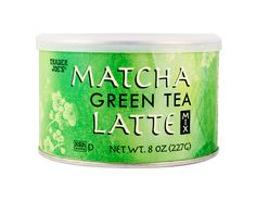 This stuff is pure HEAVEN. Trader Joe's Matcha Green Tea Latte Mix, 8-ounce can is $3.99 and makes four 12-ounce lattes.