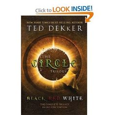 Black, Red, White (as The Circle Trilogy all in one book) by Ted Dekker. Great reads if you are into sci-fi. I haven't read the last one called Green yet. Water For Elephants, Between Two Worlds, Great Books To Read, Amazing Books, Read Books, Reading Material, Book Nooks, Book Nerd, The Book