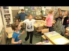 """This is an exercise tip for the start of the school day from """"Muuvit Finland"""" and Finnish Schools on the Move. Activity Games, Activities, Physical Education, School Days, Fitness Tips, Physics, Polaroid Film, Teacher, Exercise"""