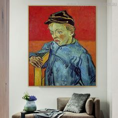 Add a personal touch of your school life by hanging this vangogh The Schoolboy Camille Painting Print. We deliver artworks world-wide. Painting Prints, Wall Art Prints, Canvas Prints, School Life, School Boy, Van Gogh Prints, Online Art Store, Vincent Van Gogh, Impressionist