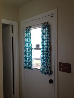 The Back Door Of House We Are In Is Between A Bathroom And Kitchen Doesnt Have Blinds On It So I Really Needed