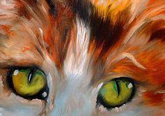 """Calli Calico (detail)"" par Marcia Baldwin"