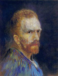 Self Portrait - Vincent van Gogh 1887