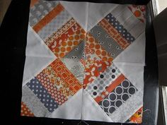 My first real tutorial! I picked this block to do for my local bee. There is a great tutorial here , but it is for a 14 inch block and my bl...