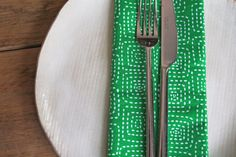 Items similar to Square Stitched - Choose a Color - Set of 4 reversible napkins on Etsy Green Table, Stitch, Unique Jewelry, Handmade Gifts, Napkins, Vintage, Color, Etsy, Products