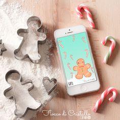 E ormai Dicembre è qui! Adoro questo mese!!⠀ E per tutti voi è arrivato Ted the Gingerbread un dolce, dolcissimo compagno per un mese che scalda il cuore! 📲per avere Ted sul tuo smartphone puoi scaricarlo gratuitamente sul blog