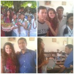 May 21: Selena during her UNICEF trip in Nepal
