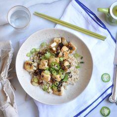 Black Pepper Tofu Pot recipe (sub w/vegan butter)