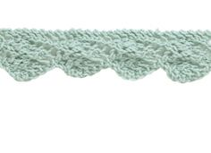 The Making Spot free guide: How to knit a lace wave border