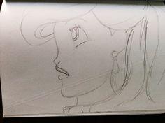 Disneys Ariel drawing
