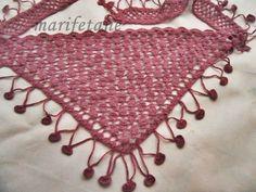 Yeni Tiğ Örgü Fular Şal & crochet scarf collar DEVAMI İÇİN: http://www.marifetane.com/2014/09/yeni-tig-orgu-fular-sal-crochet-scarf.html