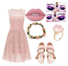 """Untitled #52"" by bethany221b on Polyvore featuring Miu Miu, Goshwara and Lime Crime"