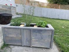 This little scrappy scrapper planter was built using some of the scrap boards I had in the shop. Back Steps, Herb Planters, Types Of Work, Wood Glue, Wooden Spoons, Little Boxes, Small Boxes, Wood Paneling, Im Not Perfect