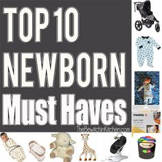 Every new parent is looking for newborn must haves. As a new mom I decided to make that easy for you. Here are my Top 10 Newborn Must Haves.